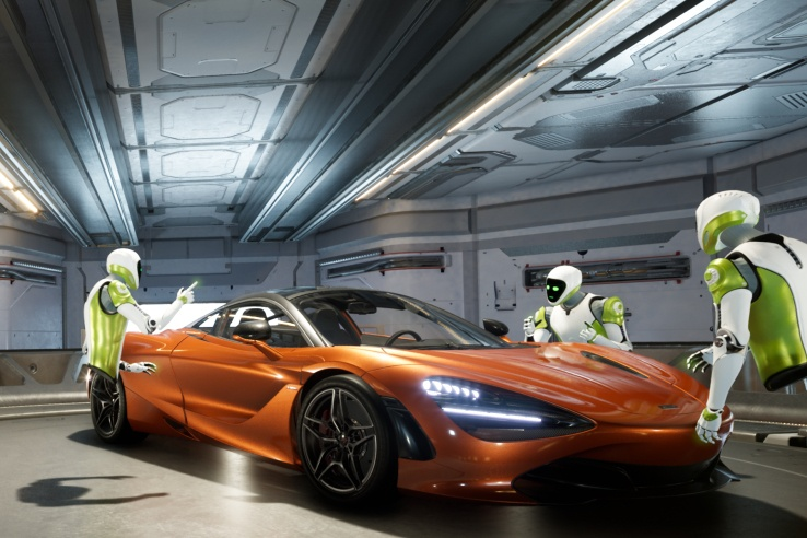 Nvidia представила систему виртуальной реальности Holodeck, предназначенную для совместного использования - 1