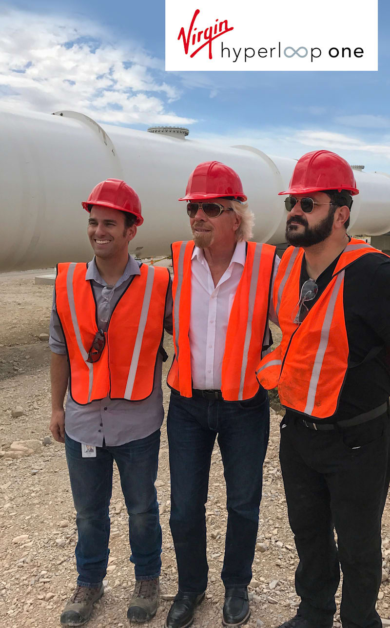 Hyperloop One получила инвестицию от Ричарда Брэнсона, став «Virgin Hyperloop One» - 2