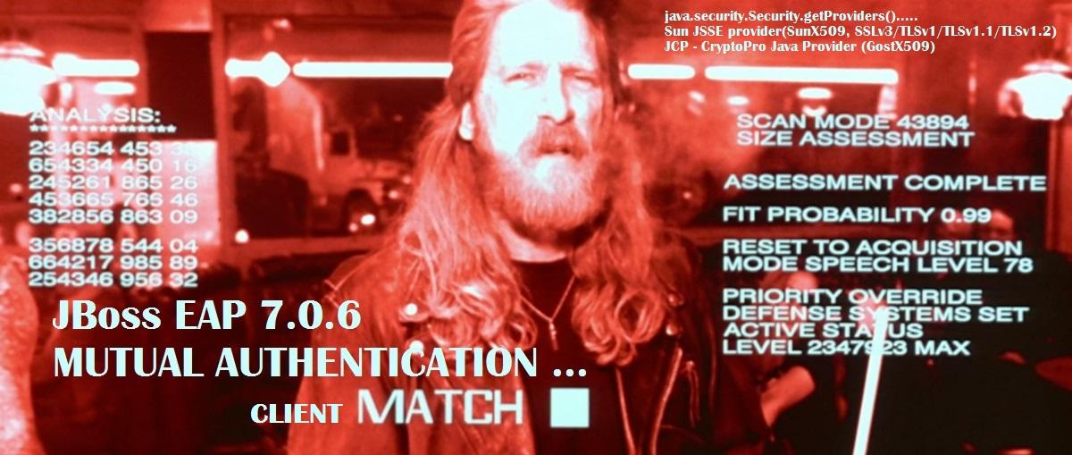 Настройка двусторонней RSA и GOST аутентификации в приложении на JBoss EAP 7 - 1