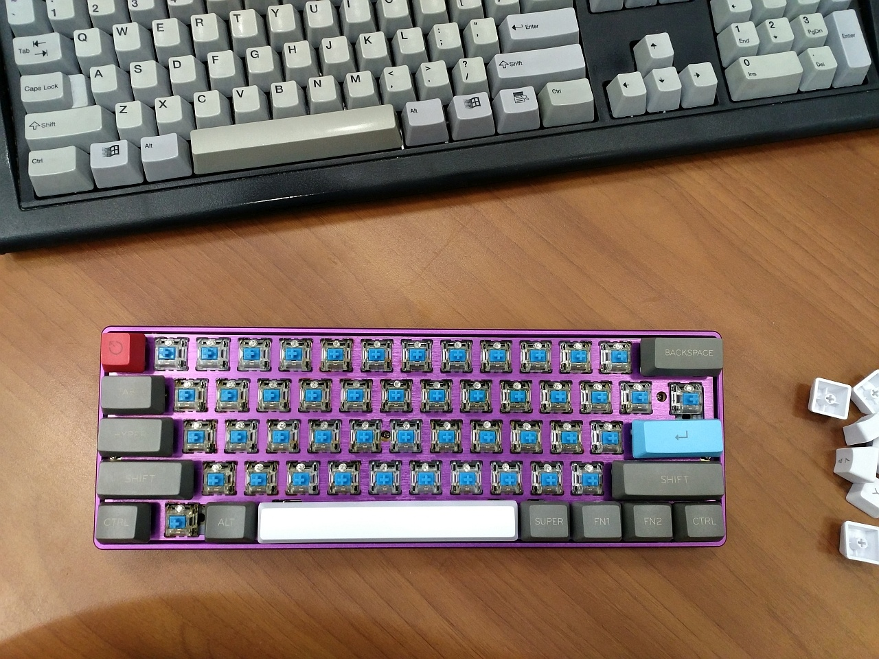 Выбираем и собираем 60% клавиатуру - 1