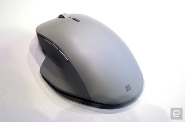 Microsoft представила мышку Surface Precision Mouse