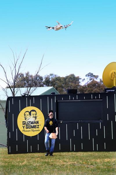 Alphabet тестирует свои дроны в Австралии