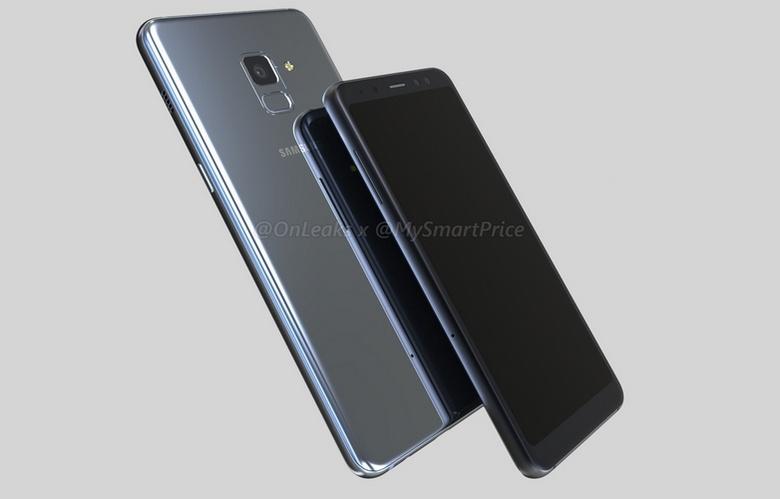 Смартфоны Samsung Galaxy A5 (2018) и Galaxy A7 (2018) запечатлены на видео