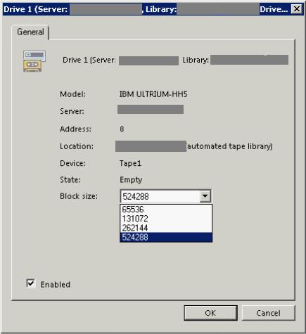 Разбор кейса про изменение настроек размера блока данных для записи на ленту с Veeam Backup & Replication - 3