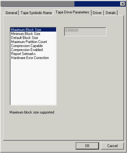 Разбор кейса про изменение настроек размера блока данных для записи на ленту с Veeam Backup & Replication - 4