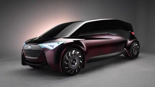 Последняя концепция новейших топливных элементов Toyota свидетельствует о новых возможностях