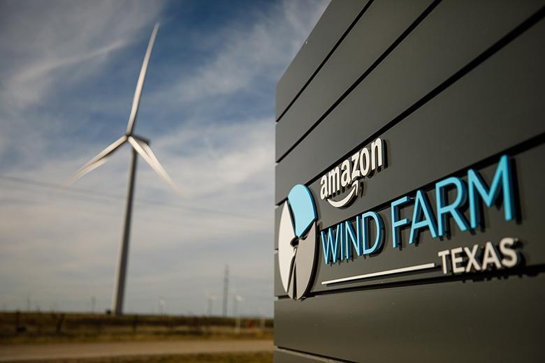 Электростанция насчитывает более 100 турбин