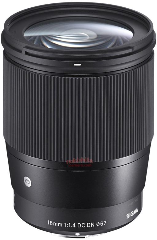 Анонс объектива Sigma 16mm F1.4 DC DN   Contemporary ожидается в ближайшее время