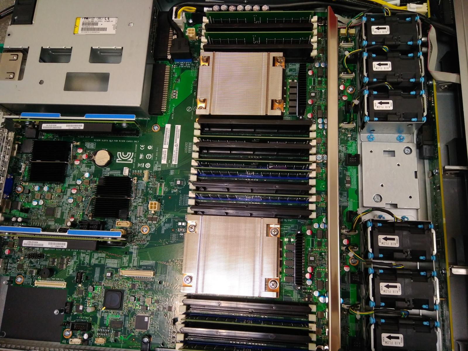 Покупка современного сервера Intel c NVMe P4800X - 15