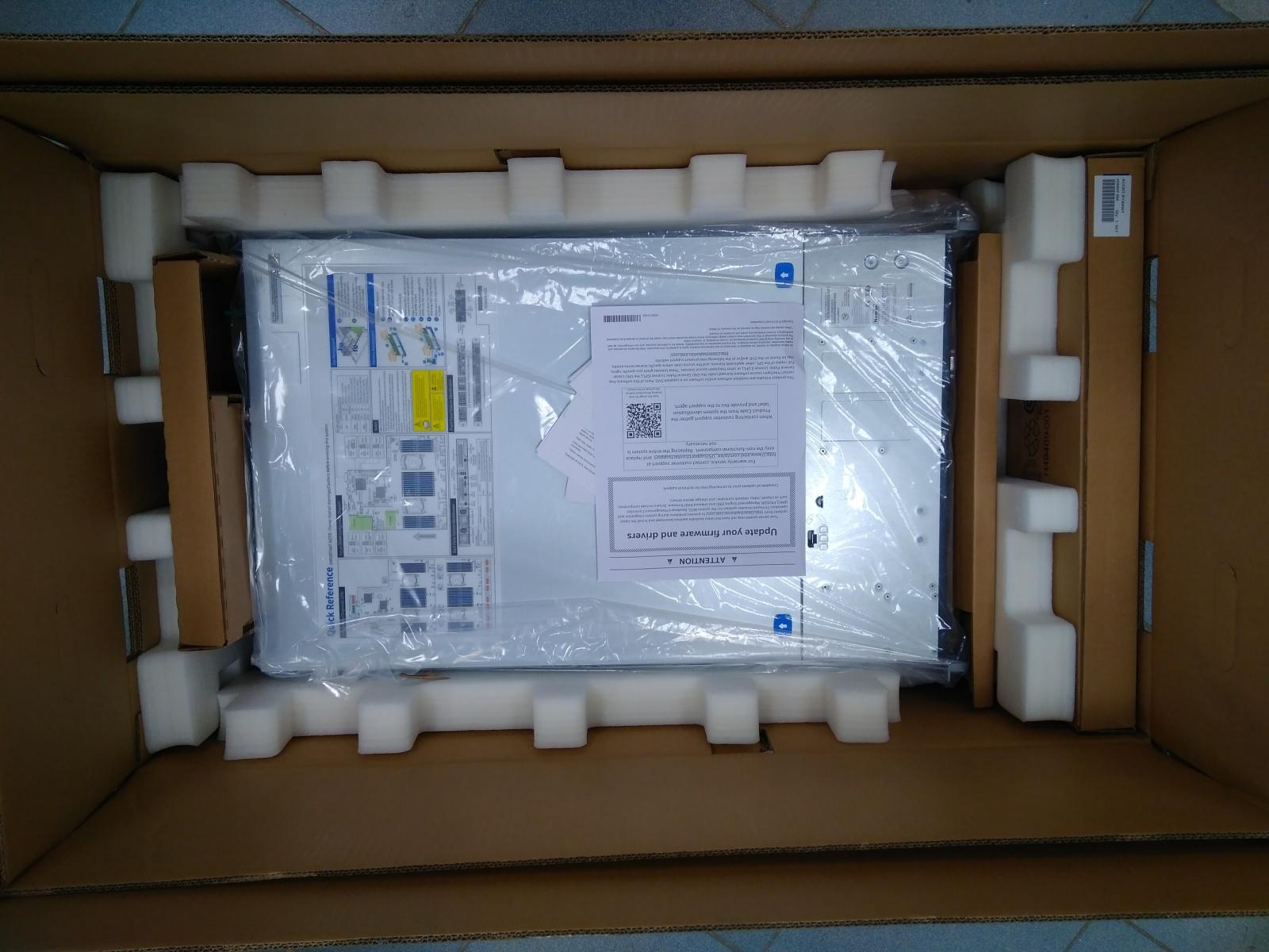 Покупка современного сервера Intel c NVMe P4800X - 28