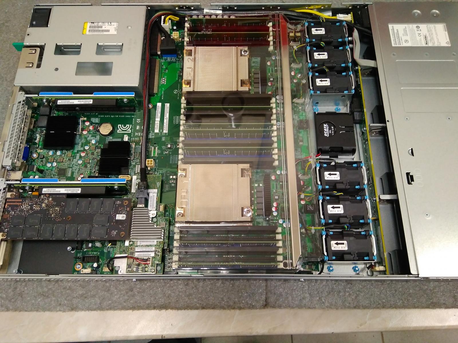 Покупка современного сервера Intel c NVMe P4800X - 30