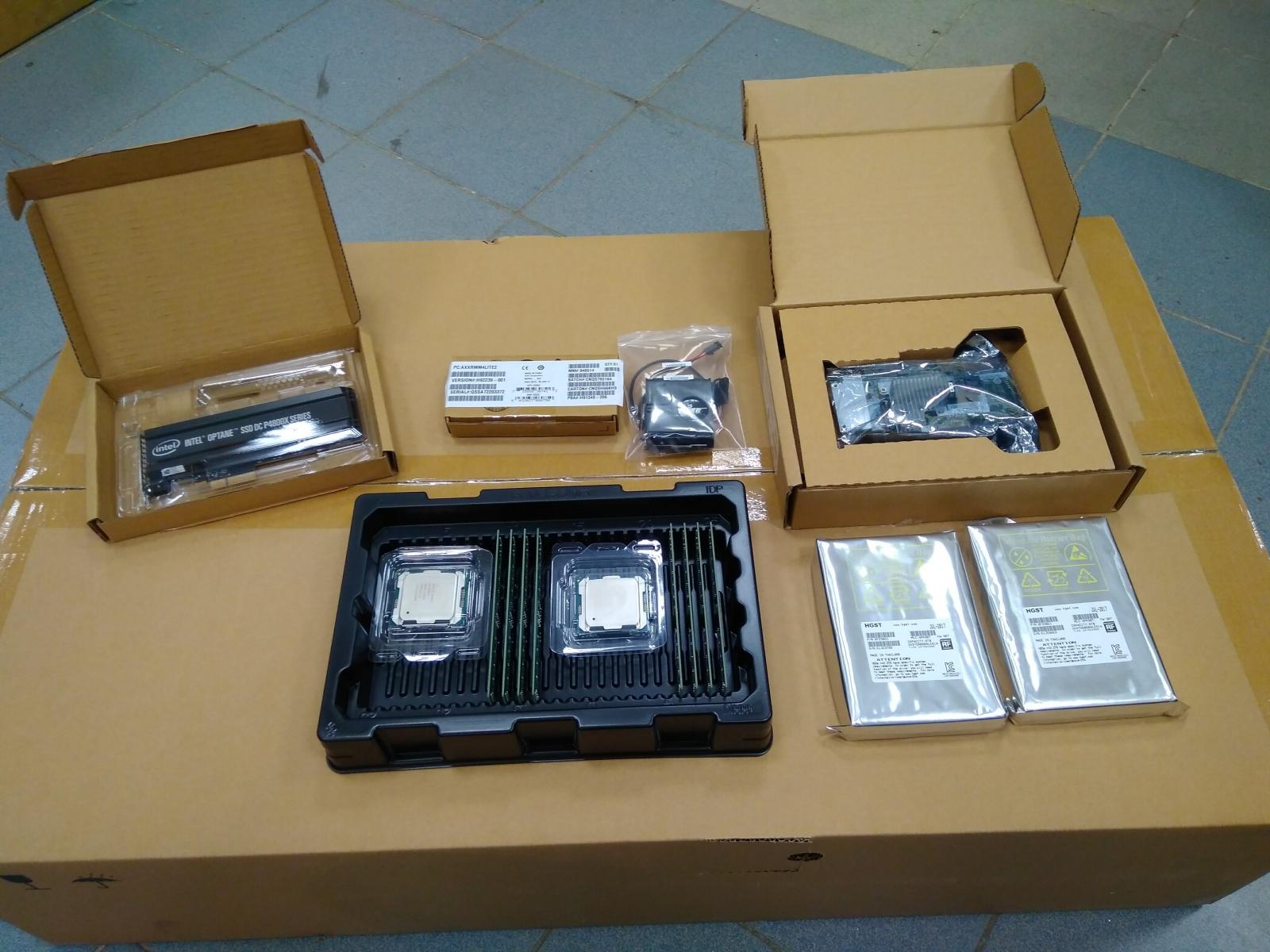 Покупка современного сервера Intel c NVMe P4800X - 1