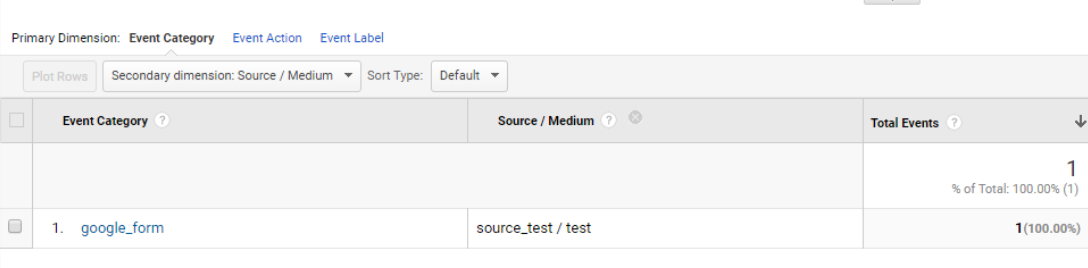 Google Forms: фиксируем событие отправки формы в Google Analytics - 7