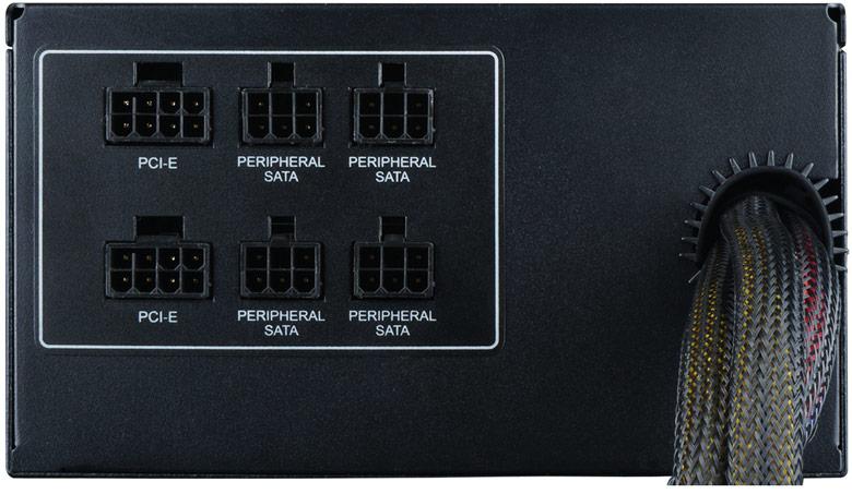 Блоки питания Raidmax RX-535AP-R и RX-735AP-R оснащены подсветкой и модульными кабельными системами