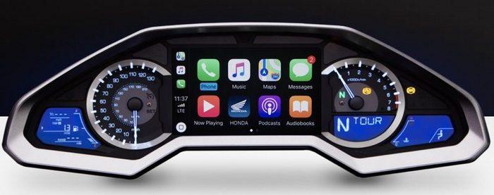 Honda Gold Wing — первый мотоцикл с поддержкой Apple CarPlay - 1