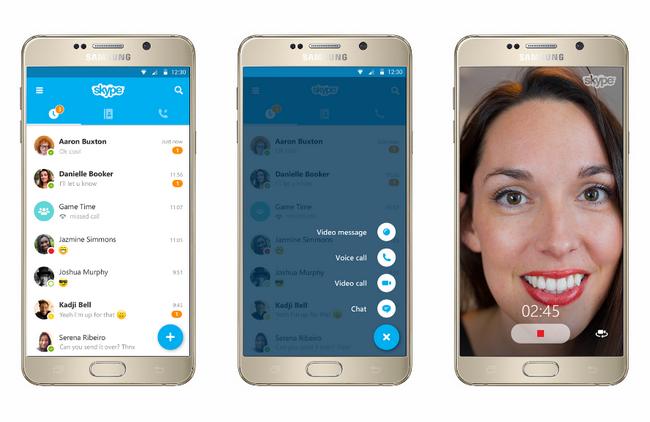 Skype для Android скачали более 1 млрд раз