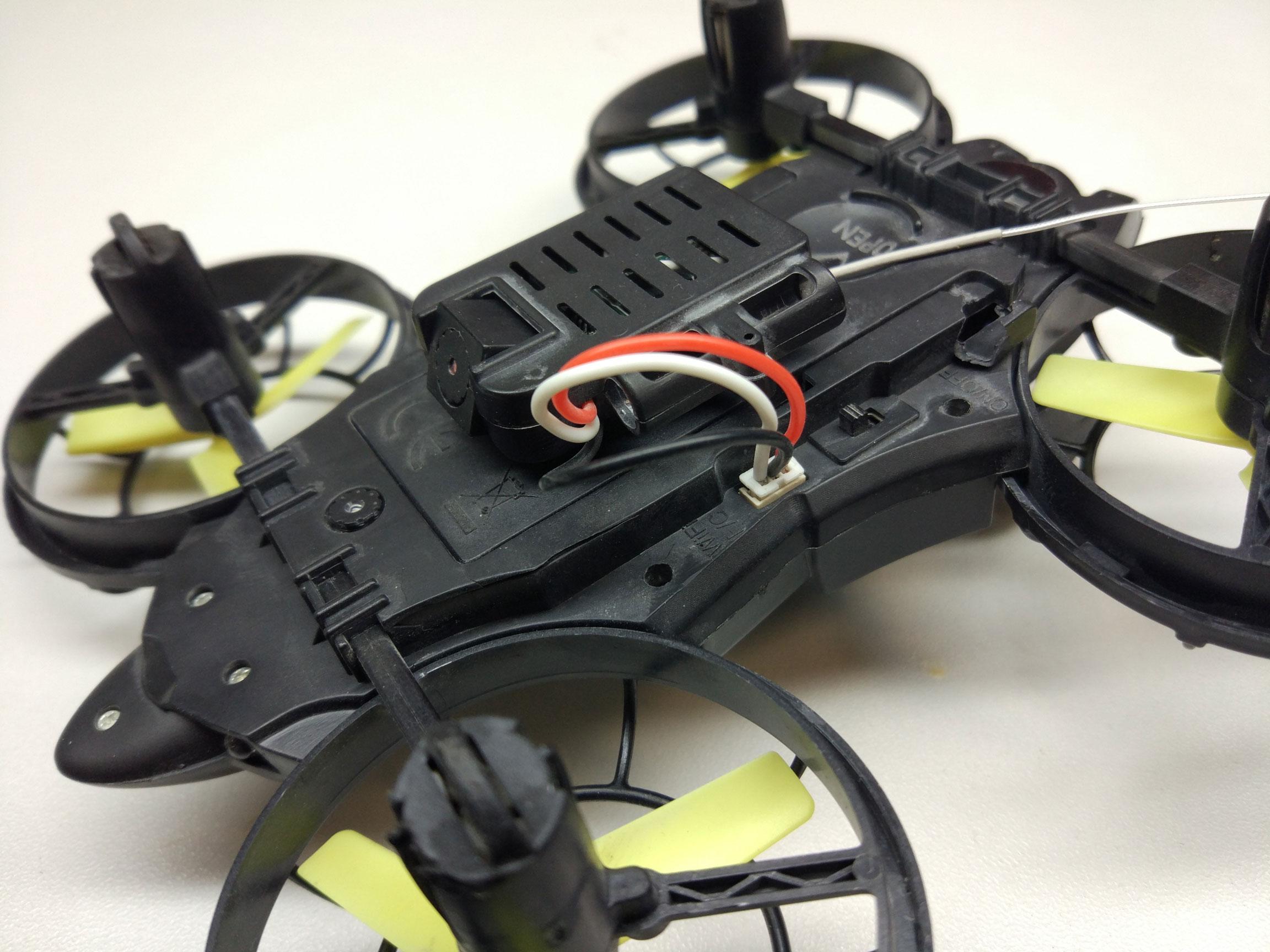 Reaper FY919. Квадрокоптер с FPV за $50 - 7