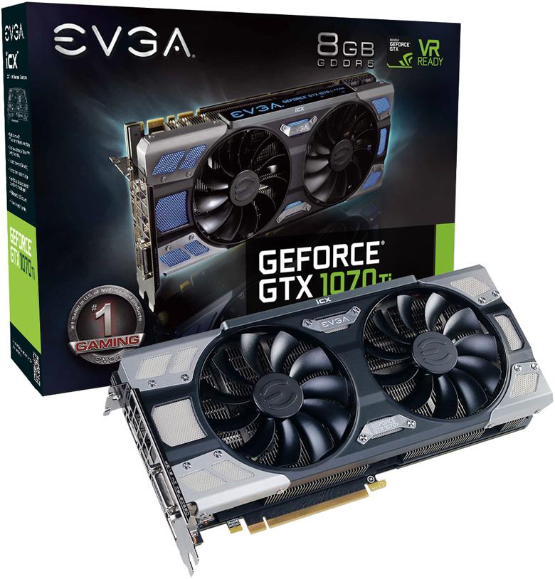 EVGA GeForce GTX 1070 Ti SC HYBRID (08G-P4-5678-KR)