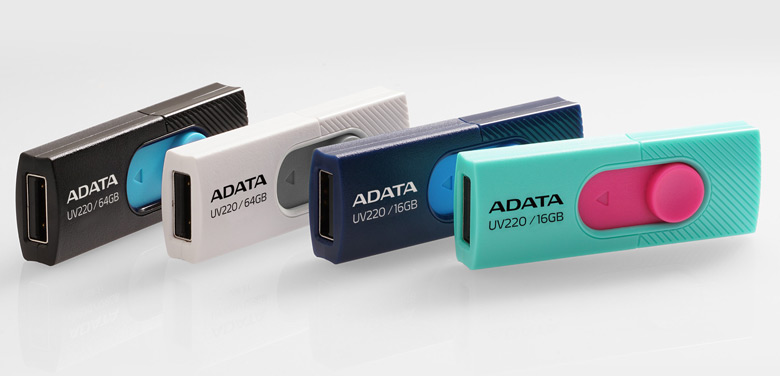 Накопители UV220 предложены в двух вариантах цветового оформления