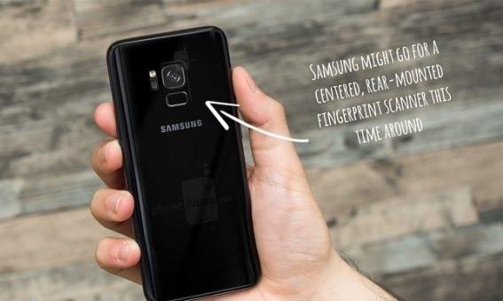 Инсайдер утверждает, что Samsung Galaxy S9 не получит оптический дактилоскопический датчик