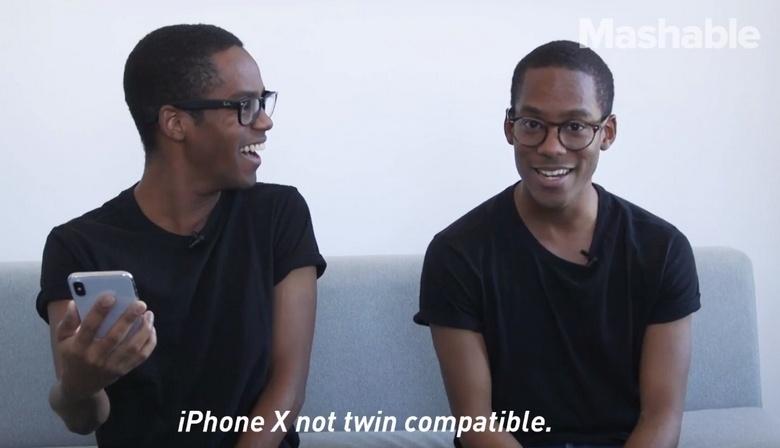 Близнецы имеют шанс разблокировать смартфоны iPhone X друг друга