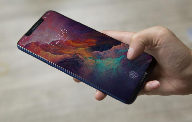 Смартфон Umidigi Z2 внешне напоминает iPhone X и может получить сканер отпечатка под поверхностью экрана