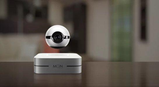 Левитирующая интеллектуальная камера наблюдает за вашим домом