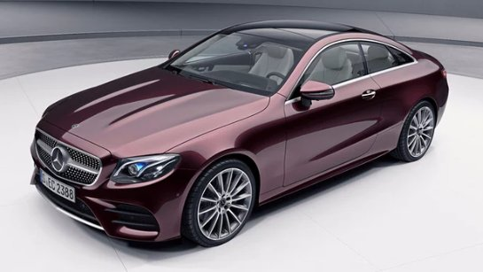 Mercedes расширяет двухдверный ассортимент E-class