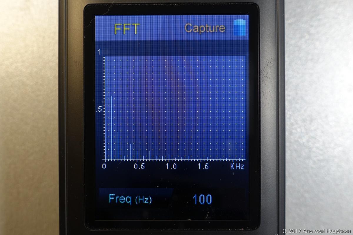 Бюджетный спектрометр-пульсметр Uprtek MF250N - 17