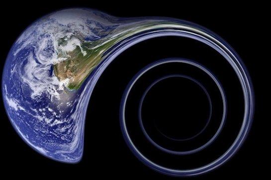 Земля может попасть под воздействие черной дыры