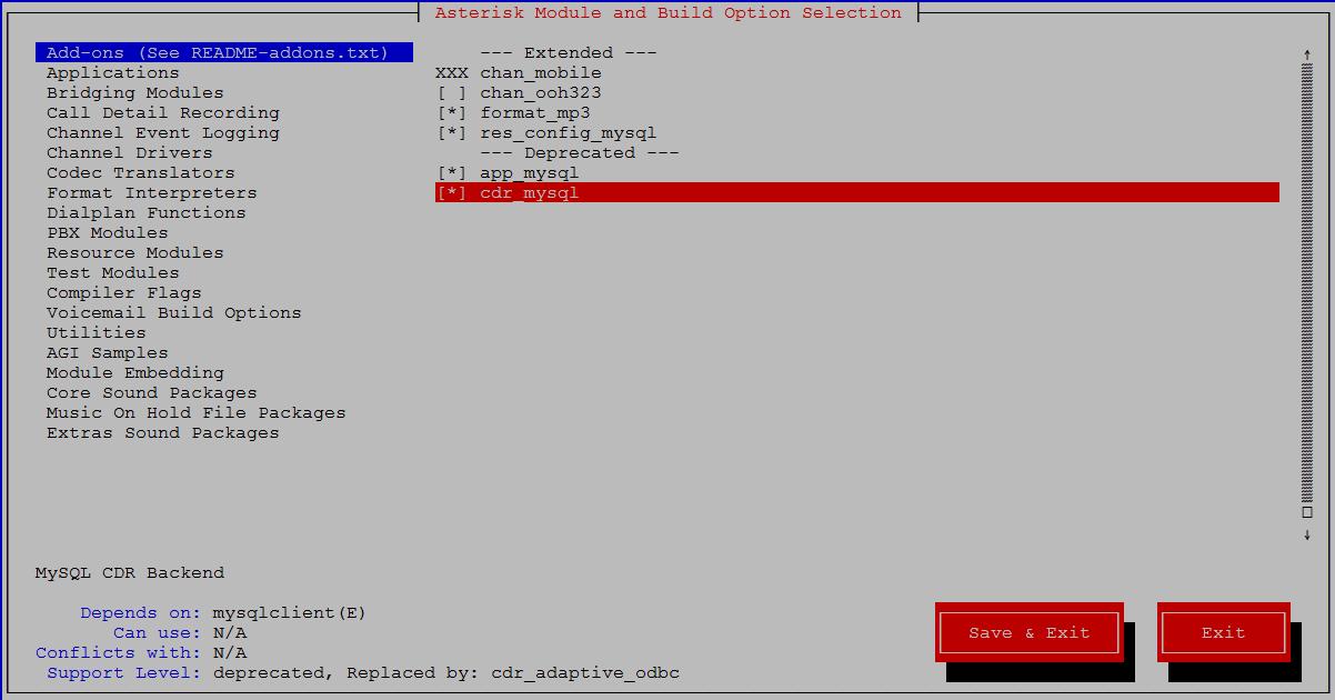 Вот как мы подключили модуль поддержки .mp3