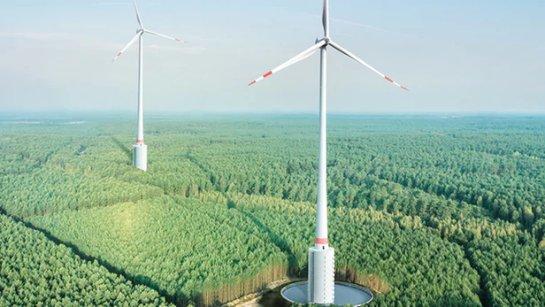 Самая высокая в мире турбина будет ловить ветер в Германии
