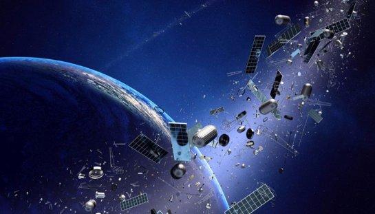 Японцы собираются следить за космическим мусором