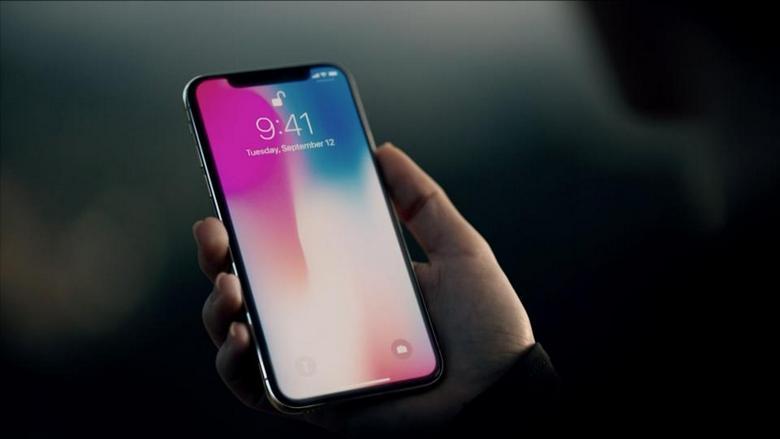 Экран iPhone X назвали лучшим на рынке