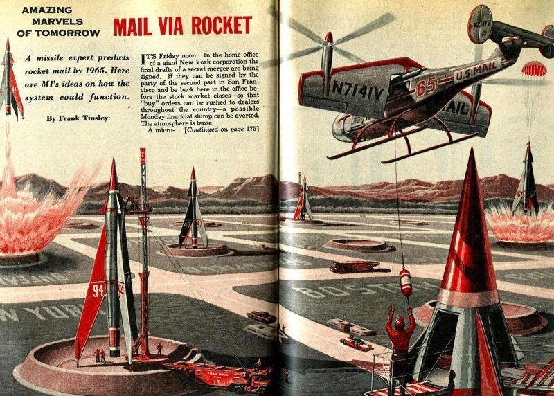 Воспоминания о ракетной почте - 1