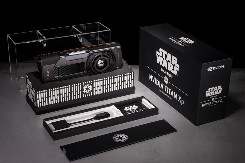 Titan Xp Collectors Edition доступна в версиях Jedi Order и Galactic Empire
