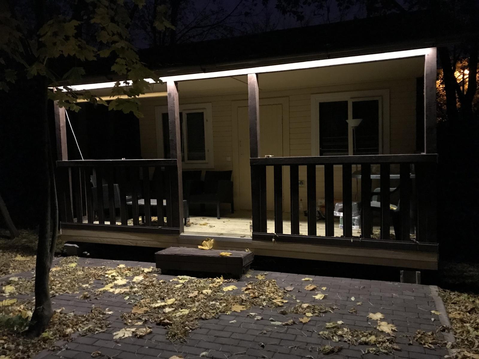 Noolite + Беседка — делаем удобный свет на даче - 19