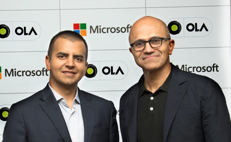 Microsoft и Ola займутся платформой для подключённых автомобилей
