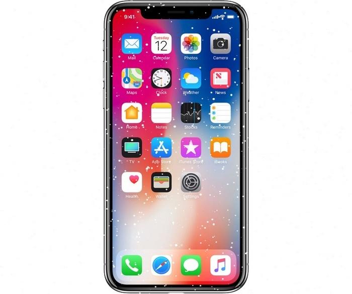 Дисплей смартфона iPhone X перестает реагировать на прикосновения при снижении температуры воздуха, Apple обещает исправить это обновлением ПО