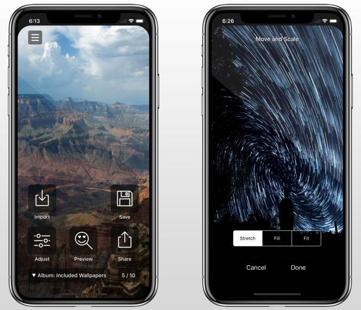 Приложение Notcho делает iPhone X больше похожим на большинство современных смартфонов