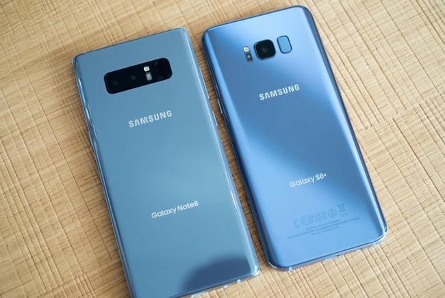 Владельцы Samsung Galaxy S8/S8+ и Note8 тоже начали чинить неработающие микрофоны, дуя в смартфоны