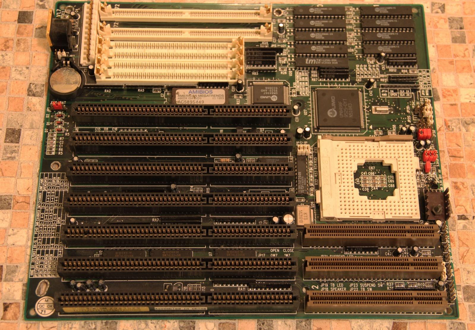 Самосборный компьютер на базе 486 - 4