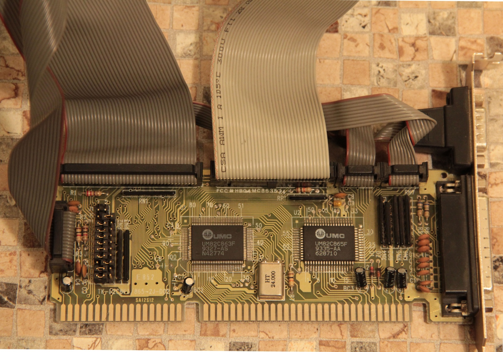 Самосборный компьютер на базе 486 - 7