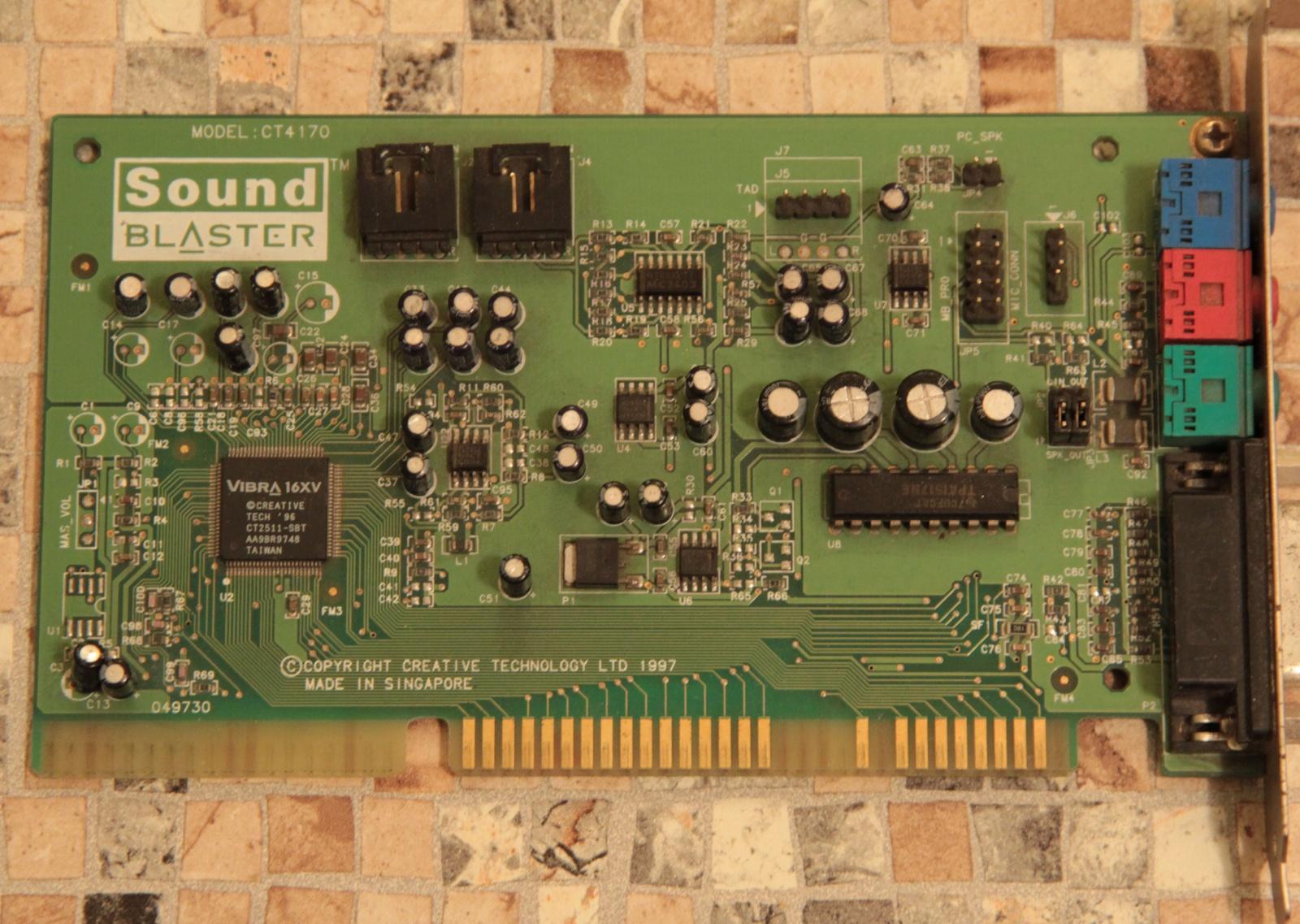 Самосборный компьютер на базе 486 - 9