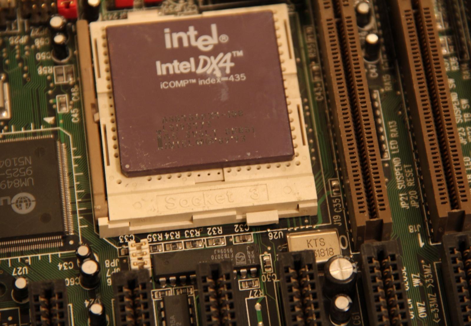 Самосборный компьютер на базе 486 - 1