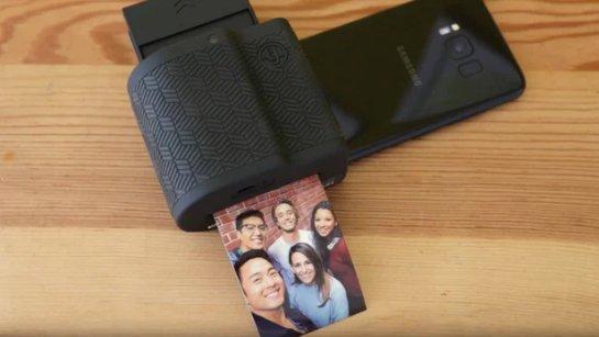 Prynt превращает телефоны Android в камеры мгновенного действия