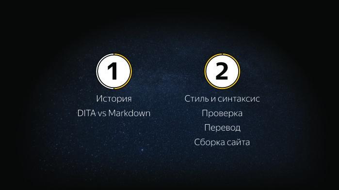 Sir Markdown. Лекция Яндекса - 1