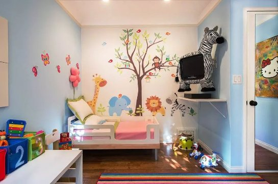 Британские ученые рассказали, почему в детских комнатах нельзя ставить телевизор