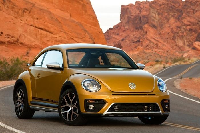 Volkswagen работает на электромобилем Beetle