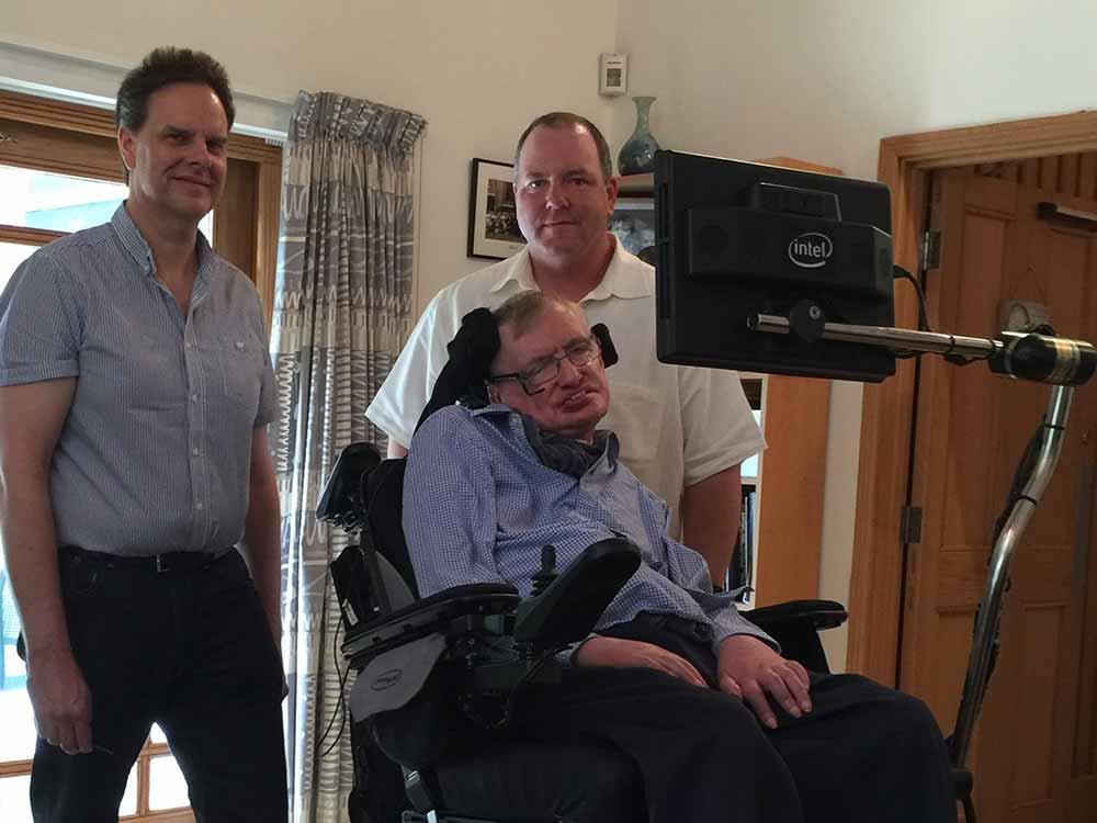 Как Intel и ThinkPad подарили голос знаменитому ученому Стивену Хокингу - 2